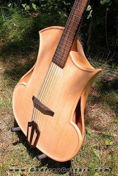 Godfrey Guitars: DJANGUAR ACOUSTIC GUITAR