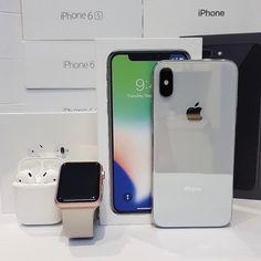 Repost from @tokyo_phone using @RepostRegramApp - iPhone X & Apple Watch & Airpods  #iphonex #iphone8plus