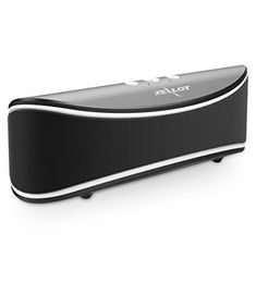 Bluetooth Speakers ZEALOT S2 Wireless Portable Speaker Desktop Computer Speaker with Enhanced Bass Build in Microphone for Hands Free Phone Call 3.5mm Audio Jack I/0 (Black)