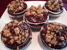 Mississippi Mud Brownie Cupcakes