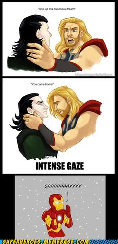 Thor's disturbingly intense feelings about Loki...you know you've thought about it.