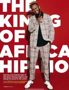 Male Fashion Trends: Kwesta para GQ Sudáfrica por Niquita Bento