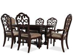 ashd6995pc ashley millennium bardwell 5pc dining set mathis brothers furniture