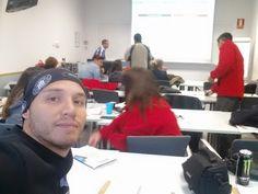 Arrancando las clases de Neuromarketing con los alumnos de INACAP Chile en UPV Valencia