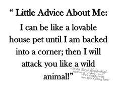 Advice  - heed this warning... Jordan Sarah Weatherhead