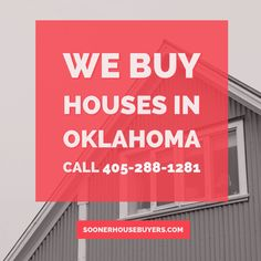 Sell House Fast, We Buy Houses, Us Real Estate, Home Buying, Oklahoma, Conditioner, Campaign, Stress, Content