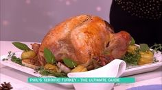 Whether you're hosting, or helping - there's no doubt that the Christmas lunch is one of the most pressurised meals of the year. To ensure we get the turkey just right - Phil Vickery is here with his ultimate guide...