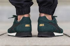 Asics Curreo - Dark Green/Black
