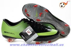 brand new b2a12 16883 Discount Nike Mercurial Vapor IX Firm Ground Green Black Red Boots Soccer  Shoes On Sale