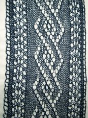 Youll feel lighter than air with the ethereal, Goddess Dream Scarf wrapped around your neck.  This gorgeous lace knit scarf is made with a very fine yarn that will make this scarf seem as if its floating.