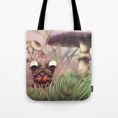 Buy Reading frog Tote Bag by chaploart. Worldwide shipping available at Society6.com. Just one of millions of high quality products available.