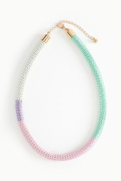 Candy Cord Necklace