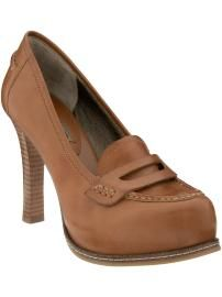Lovin' these Platform Penny Loafers!
