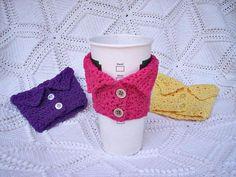 Tazón forrados al crochet
