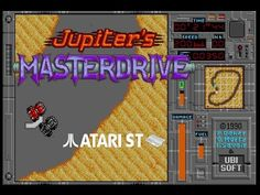 Jupiter's Masterdrive - Atari ST (1991)