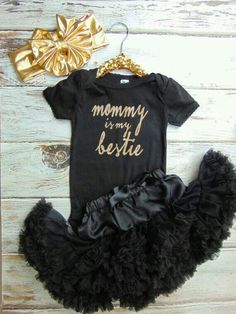 💖 Little Girl Fashion, My Little Girl, Toddler Fashion, Kids Fashion, Cute Kids, Cute Babies, One Piece Outfit, Baby Time, Mommy And Me
