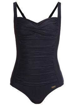 LASCANA SAPHIR Badeanzug black Bekleidung bei Zalando.de | Material Oberstoff: 80% Polyamid, 20% Elasthan | Bekleidung jetzt versandkostenfrei bei Zalando.de bestellen!