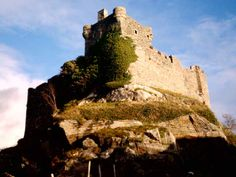 Castle Tioram Scotland: Loch Moidart - e-architect Scotland Castles, Scottish Castles, Clan Macdonald, West Coast Scotland, Scottish Clans, Ancestry, Old Houses, Monument Valley, Outdoor Living