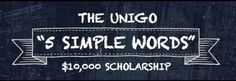 5 Simple Words Could Lead to Scholarship Money - ScholarshipExperts.com College Scholarships Blog