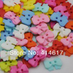 Barato 50 pcs misturar cores bonito borboleta botões de costura bebê / Kid ' s Sweing botões PT79, Compro Qualidade Botões diretamente de fornecedores da China:    100% Brand New        Tamanho:                  1.4                                       Cm x 1,1 cm