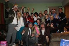 Last year we had a National Lampoon Christmas Vacation Party where we all dressed like characters from the movie! Christmas Movie Night, Christmas Shows, Christmas Holidays, Holiday Movies, Christmas Stuff, Merry Christmas, Christmas Vacation Costumes, Christmas Party Themes, Xmas Party