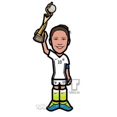 """Tykes on Instagram: """"Carli Lloyd Team USA """"World Cup"""" Tyke. Carli Lloyd netted a hat-trick in the first 16 minutes of the Women's World Cup Final leading Team USA to a 5-2 victory.She became the first American woman to score in four straight Women's World Cup games, while the United State became the first country to win three Women's World Cup titles.#CarliLloyd #WorldCup #FIFA #USA #USWNT #HatTrick #WomensWorldCup #soocer #futbol #tyke #tykes #MyTyke www.tykes.co"""""""