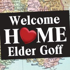DIGITAL FILE LDS Missionary Welcome Home Poster by MeckMom | Just ...