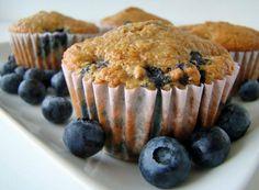 Low-Fat High Fiber Blueberry Bran Muffins Recipe - Food.com - 205891