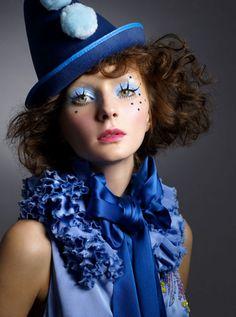 Suza Scalora photographer , denim , hat ruffles