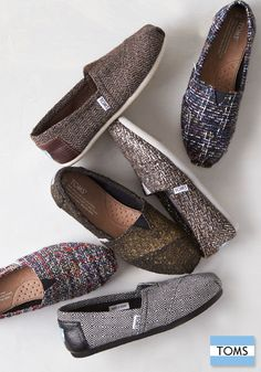 Featuring new prints and patterns, these TOMS Classics will keep you warm and stylish this winter.