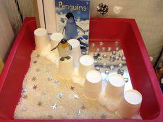 Small world - South pole (penguins)