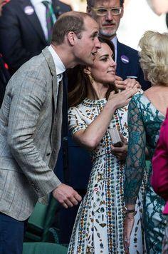 Ce dimanche, Kate Middleton, et son époux le prince William étaient aux premières loges pour voir Andy Murray remporter le tournoi de tennis de Wimbledon.
