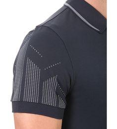 HUGO BOSS - Logo-detail slim-fit cotton-jersey polo shirt   Selfridges.com