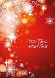 Stille Nacht, heilige Nacht | Frohe Weihnachten | Echte Postkarten online…