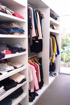 Contemporary Closet by Monica Kovacic