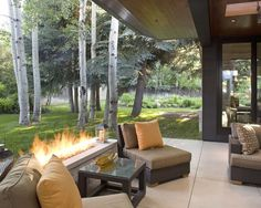 Contemporary Patio Patio Furniture Design