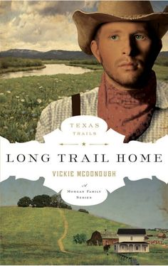 Vickie McDonough - Long Trail Home / #awordfromJoJo #ChristianFiction
