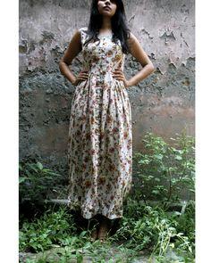 Floral tea dress by Itr | The Secret Label