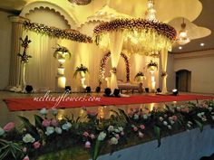 Mandap And Stage Decorations That Are Floral Masterpieces Marriage Decoration, Wedding Stage Decorations, Backdrop Decorations, Flower Decorations, Reception Backdrop, Wedding Reception, Best Wedding Venues, Wedding Trends, Indian Wedding Stage