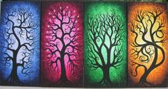 In case you couldn't tell I really like the funky tree art