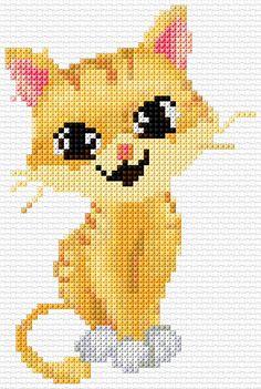 Cross Stitch | Cat xstitch Chart | Design