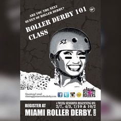 Sign up today. Classes start Sunday at 6:30pm at the Suniland Rink. Check our FB Events page for more information. #miamirollerderby #welovefreshmeat #badass #workhardplayhard by miamirollerderby