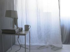Linen gauze curtains GARZA GARZA Collection by Society Limonta