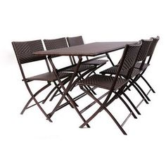 Garden Treasures Set Of 6 Hayden Island Steel Patio Dining Chairs REALISTIC