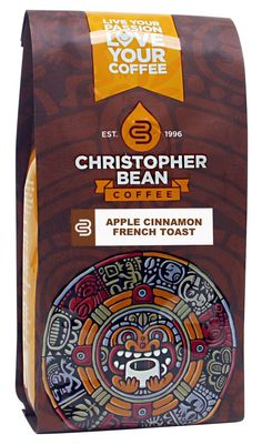 Christopher Bean Coffee Apple Cinnamon French Toast Ground Coffee, Decaffeinated, 12 Ounce > Insider's special review you can't miss. Read more  : Fresh Groceries