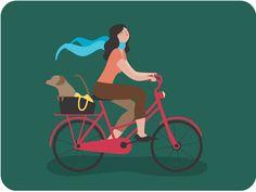 Ride the life by Juan Pontaroli #Design Popular #Dribbble #shots
