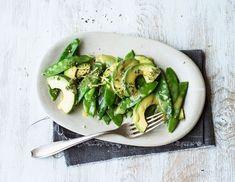 Zuckerschoten-Avocado-Salat Rezept