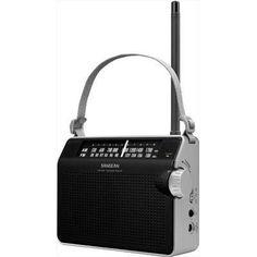 Analog Tuning Prtbl Radio Blk