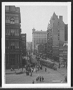 Main Street, 1910 - Cincinnati
