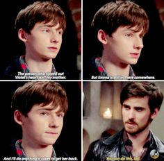 Killian always believe in Henry